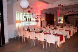 Einrichtung, Bestuhlung Hochzeit