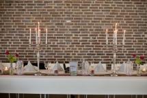 Tischdeko Silberhochzeit